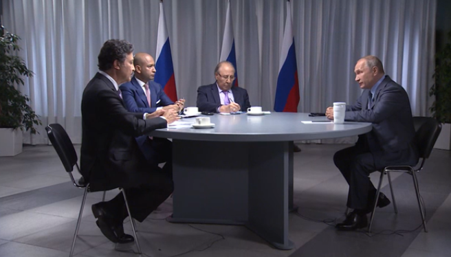 Putin im O-Ton zu der Frage, warum Russland sich stark in Syrien engagiert