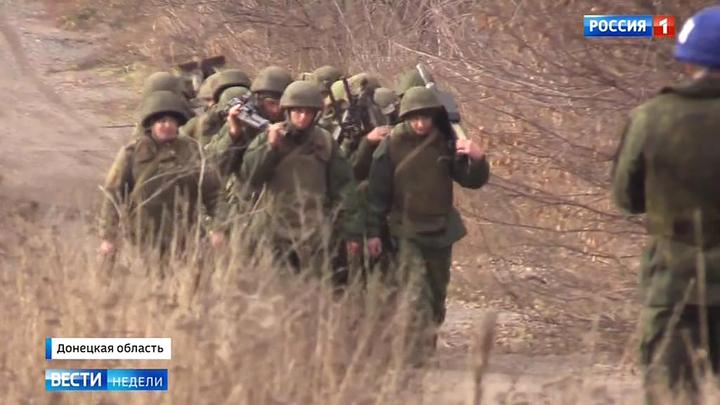 Hoffnung in der Ukraine – Das russische Fernsehen über den Truppenabzug im Donbass