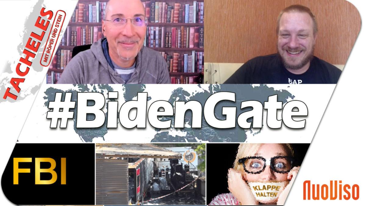 Obamagate, Bidengate, Russiagate, Ukrainegate? Tacheles #33 ist online