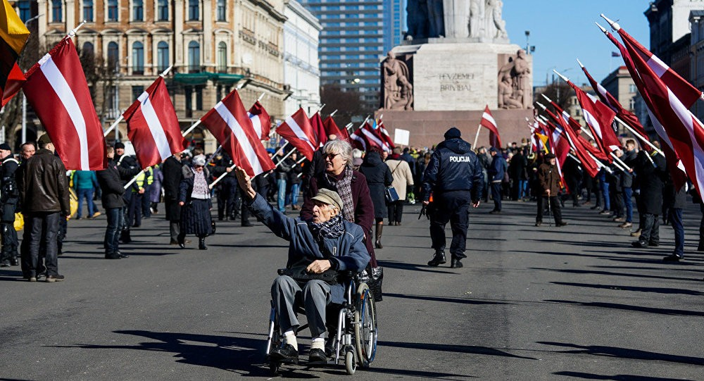 Wo ist der Protest der Bundesregierung? Gedenkmärsche für SS-Veteranen in Lettland
