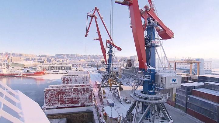 Russland baut in der Arktis neue Städte für den Export von Flüssiggas